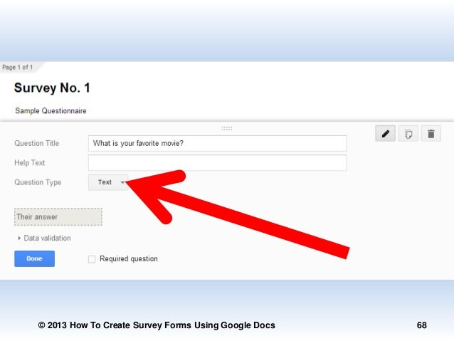 how to create a poll in google docs