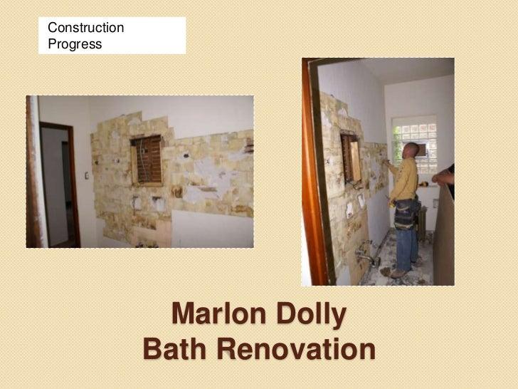Marlon Dolly Kitchen Renovation