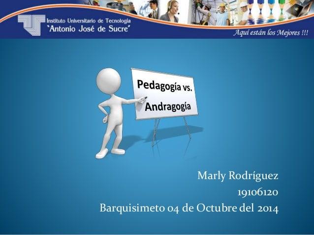 Marly Rodríguez  19106120  Barquisimeto 04 de Octubre del 2014
