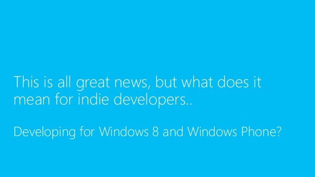 Marmalade & Windows Phone 8