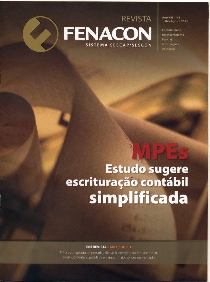 Escrituração contábil simplificada para MPEs