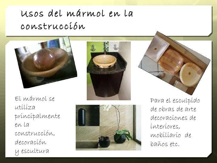 Marmol for De donde se extrae el marmol