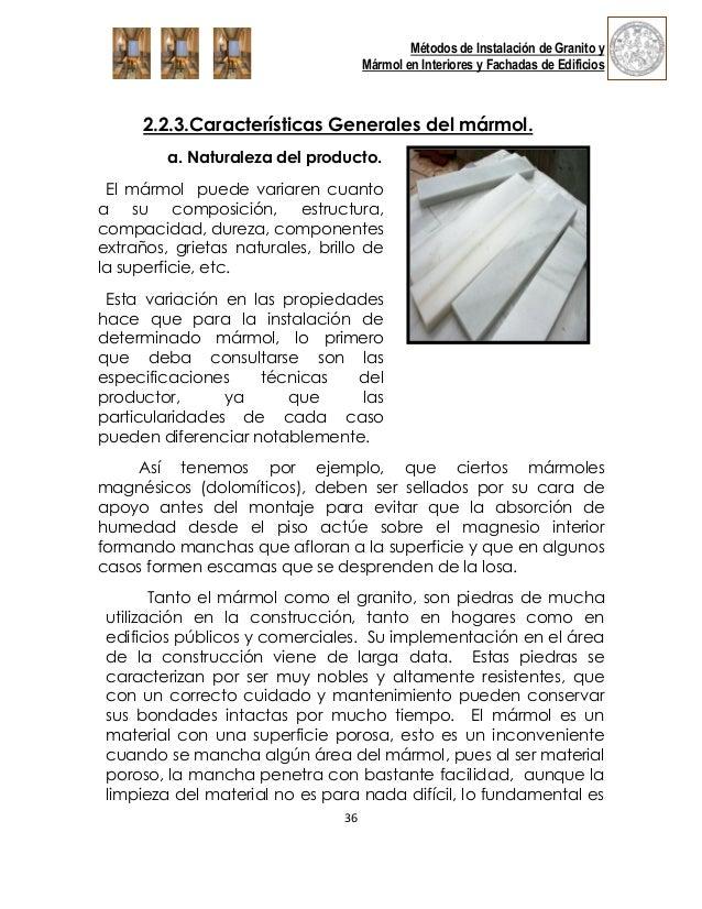 Marmol for Clasificacion del marmol
