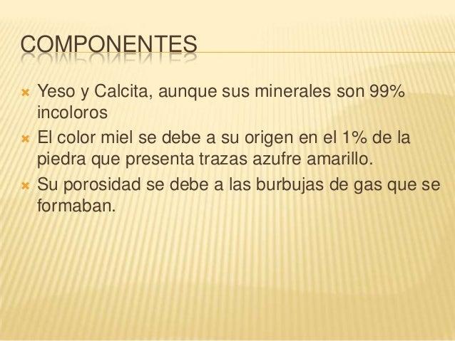 Materiales de construcc n m rmol for Composicion del marmol