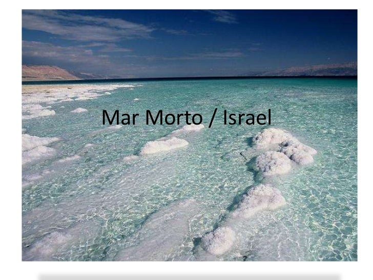 Mar Morto / Israel