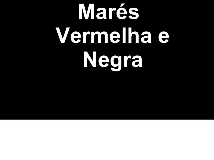 Marés Vermelha e Negra Nomes: Matheus Bastos Alves  e Matheus C. dos Santos