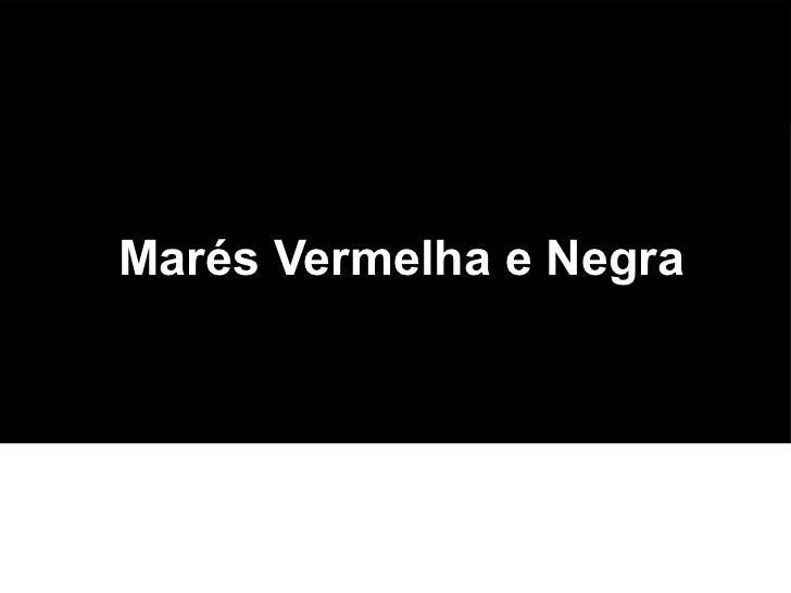 Marés Vermelha e NegraNomes: Matheus Bastos Alves e Matheus C. dos Santos