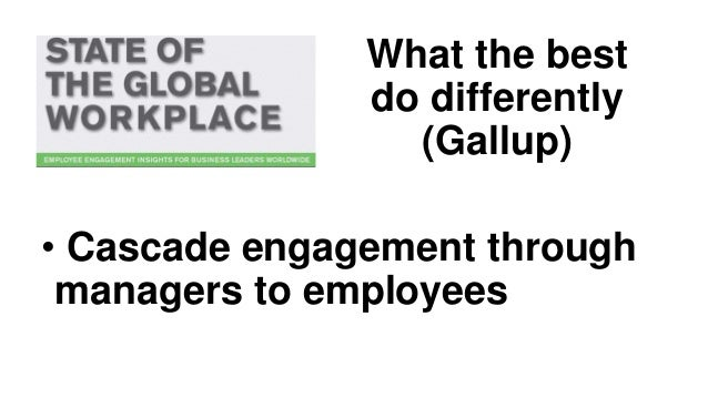 In summary • Engagement matters! • Especially in aged care • Engagement comes from leadership
