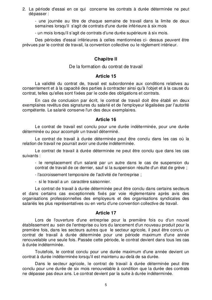 Maroc Code Travail