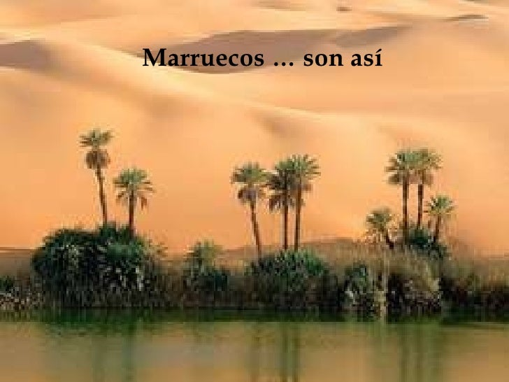 Marruecos … son así