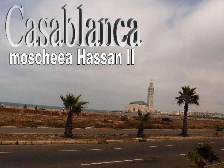 Maroc Casablanca2 The Hassan II Mosque