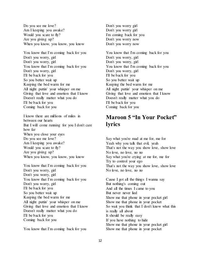 i know you love me lyrics