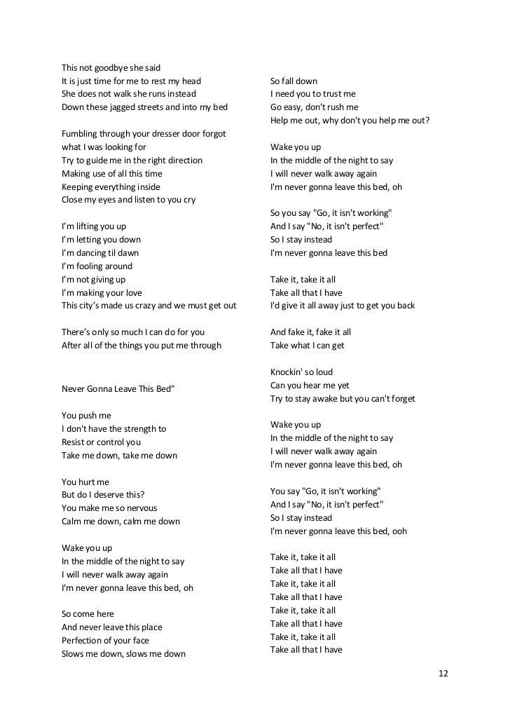 Lirik lagu if you ever come back