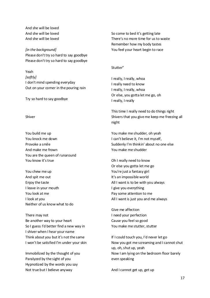 lirik lagu you are the reason beserta artinya