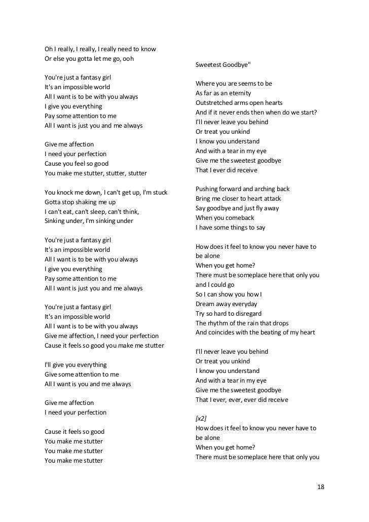 Lyric if you go away lyrics : Maroon5's songs lyric (lirik lagu Maroon5)