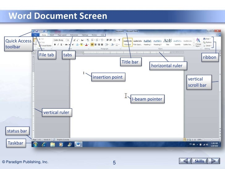 how to get the page ruler in microsoft word 2013