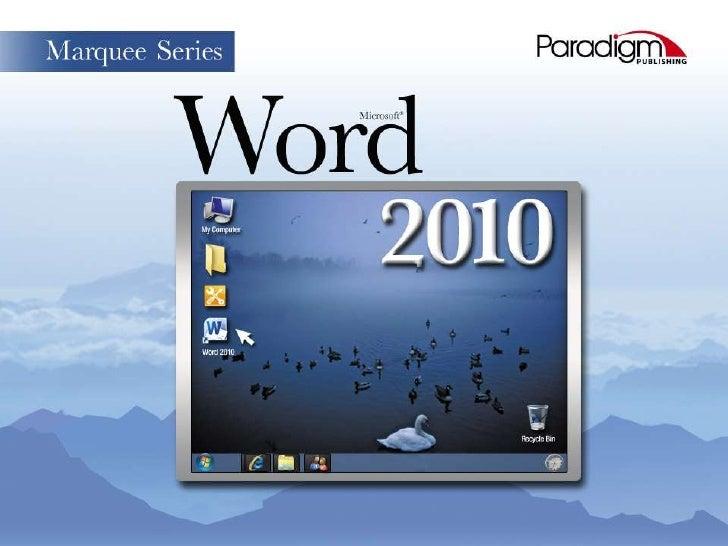 © Paradigm Publishing, Inc.   1   Skills