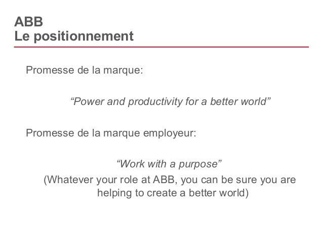 ABB  Les interactions