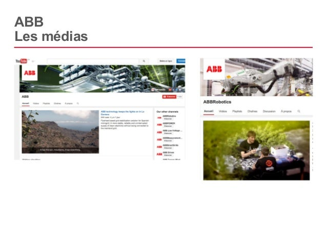 ABB  Les médias