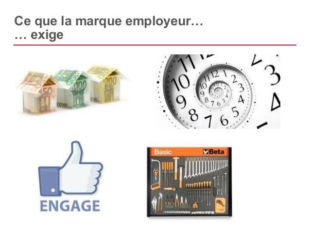 Ce que la marque employeur…  … génère