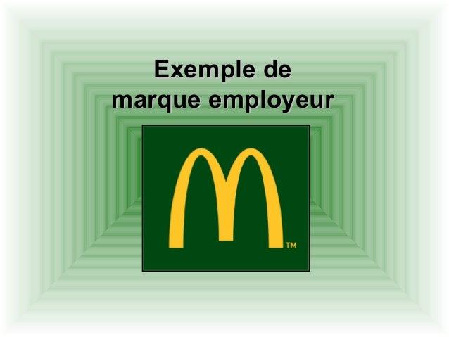 Exemple deExemple de marque employeurmarque employeur