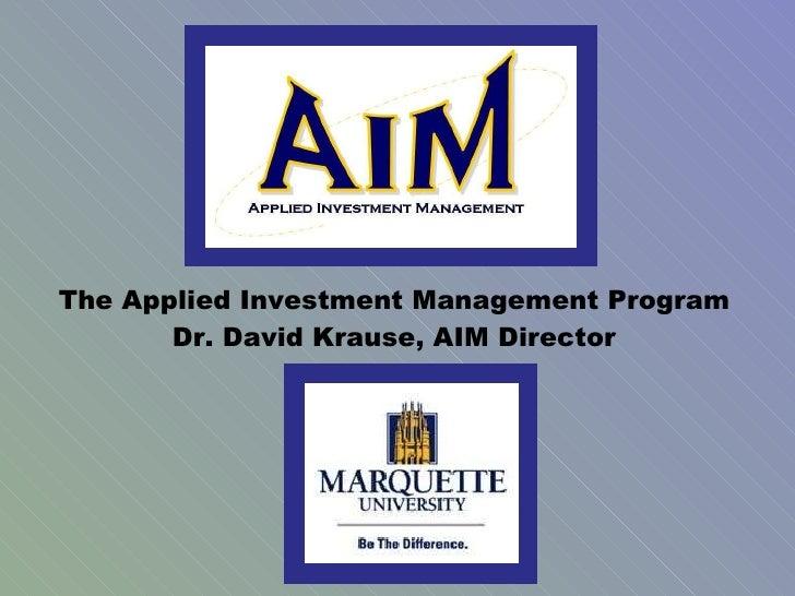 M&i Investment Management