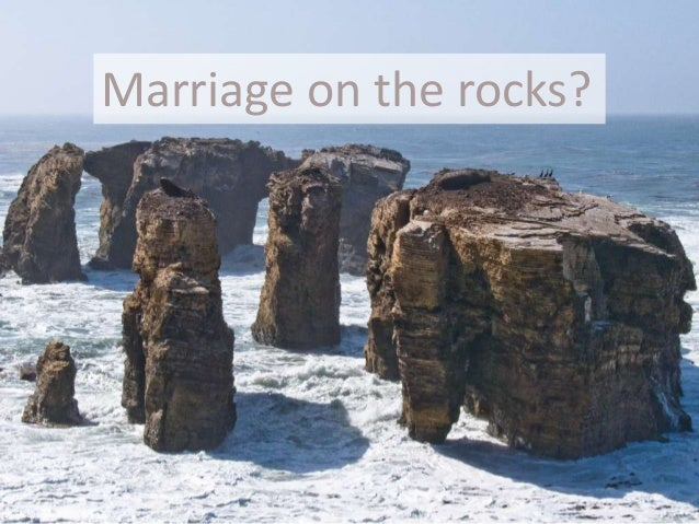 Marriage on the rocks?Photo by Mikebaird on flickr.com