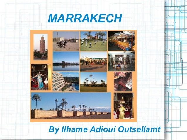Marrakech Tourism Best of Marrakech