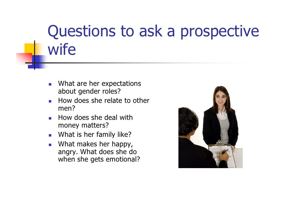 Marriage Questions To Ask Her Before hand