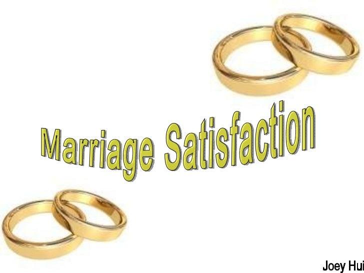 Marriage Satisfaction Joey Hui