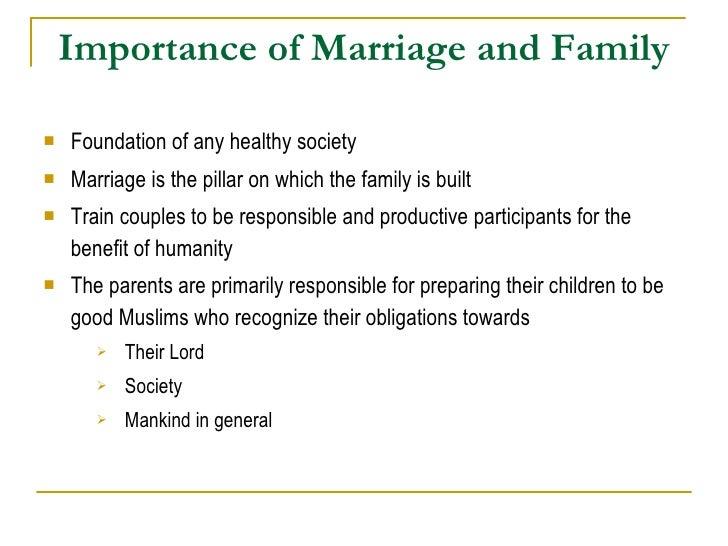 Healthy Marriage & Child Upbringing