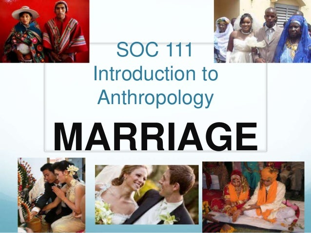 marriage anthropology