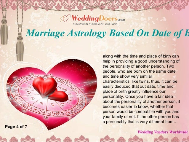 astrology based on date of birth and time