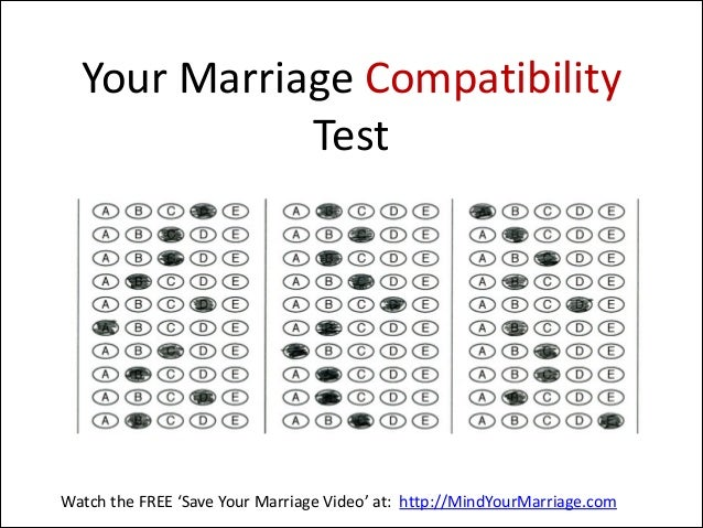 Compatibility tests for couples