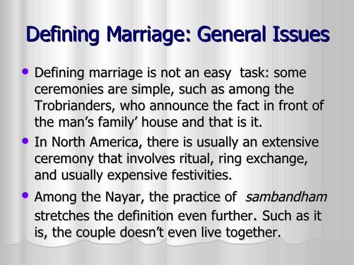 what is the definition of terms in early marriage All too often, the imposition of a marriage partner upon a child means that a girl or   the term ―early marriage‖ is used to refer to both formal marriages and.