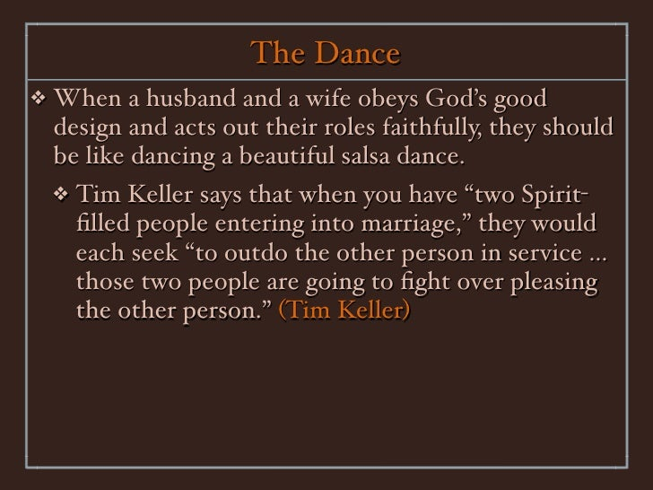 roles in marriage All scripture are from the nasb '95 update unless noted 1 marriage and parenting topic 2 – marriage – the husband's role randy thompson valley bible church.