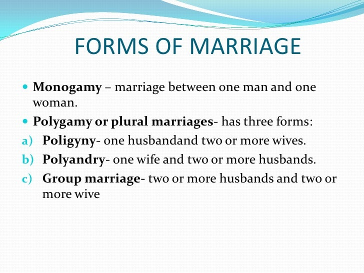 Essay on polygamy