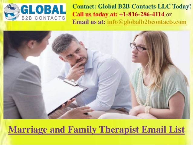 Contact: Global B2B Contacts LLC Today! Call us today at: +1-816-286-4114 or Email us at: info@globalb2bcontacts.com Marri...