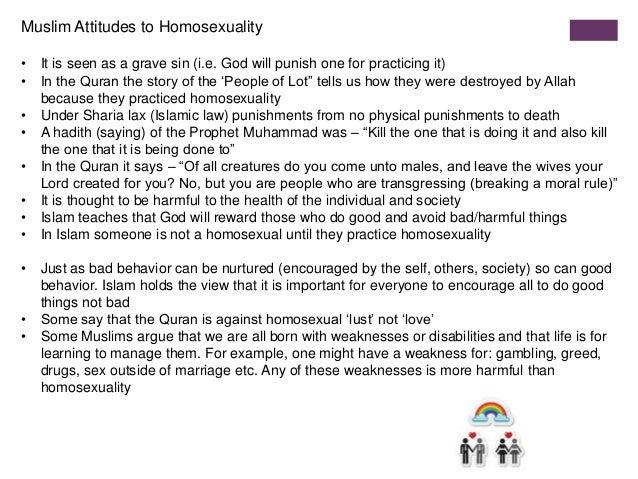 Quran teachings on homosexuality