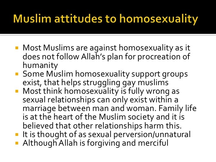 Verses from quran about homosexuality
