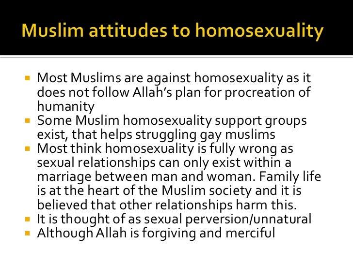 Islamic verses on homosexuality