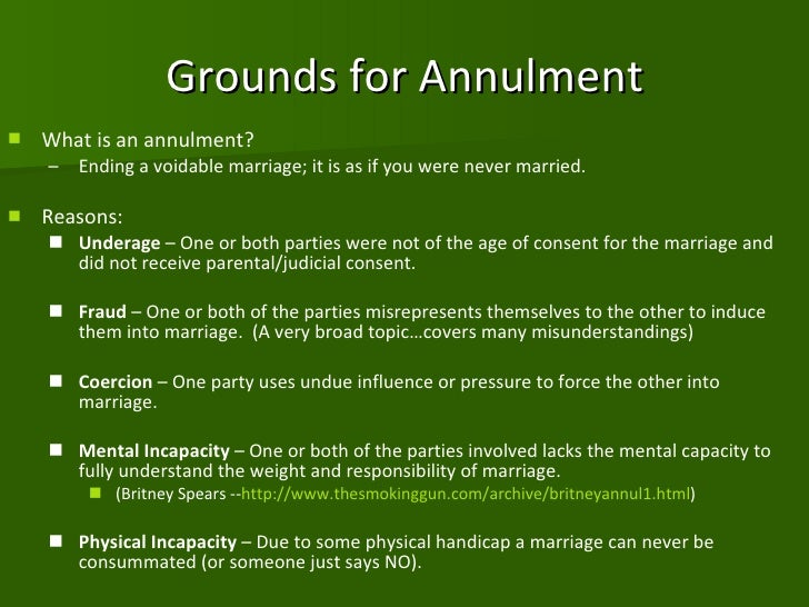 Annulment vs. Divorce: What's the Difference?