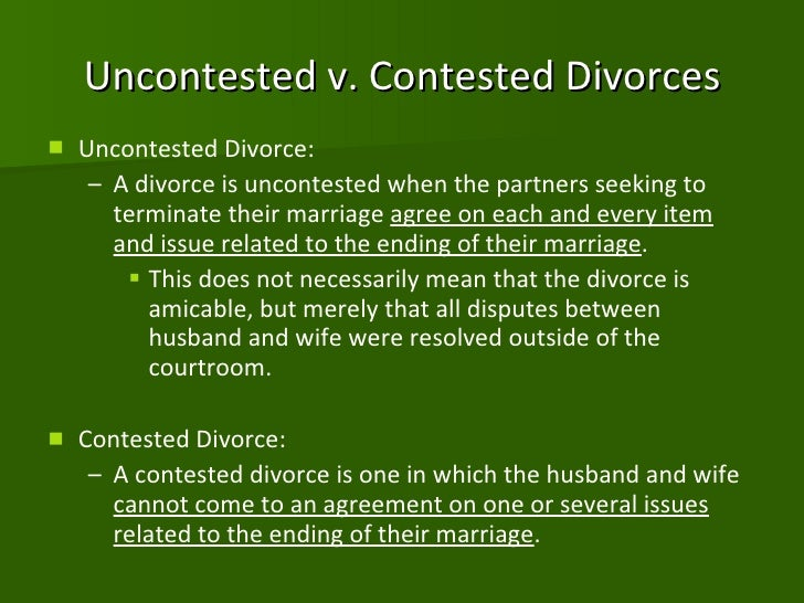 divorce presentation View notes - outline for divorce presentation (autosaved) (3) from communicat 202 at rhode island jose perales intro: attention grabber: until death do us part you.