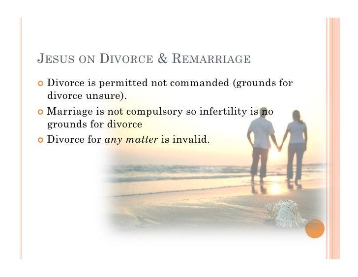 Christian response to divorce
