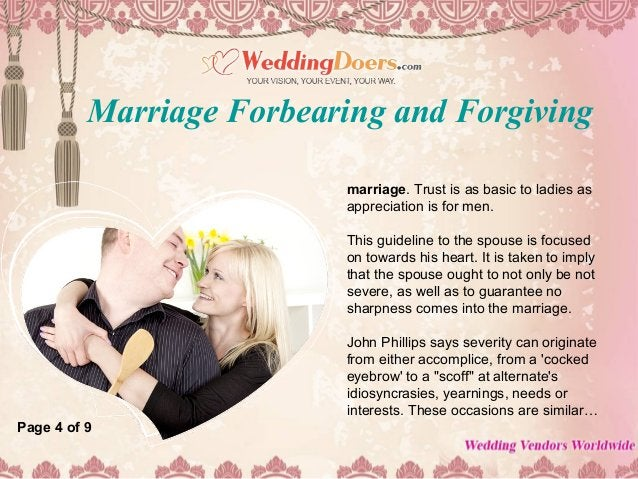 marriage. Trust is as basic to ladies as appreciation is for men. This guideline to the spouse is focused on towards his h...