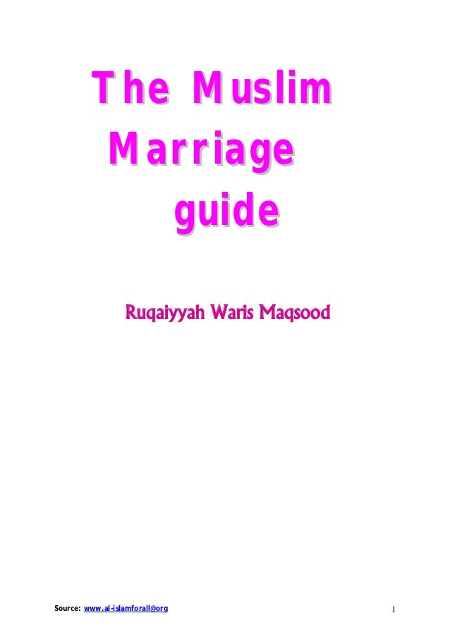 Marriage guide