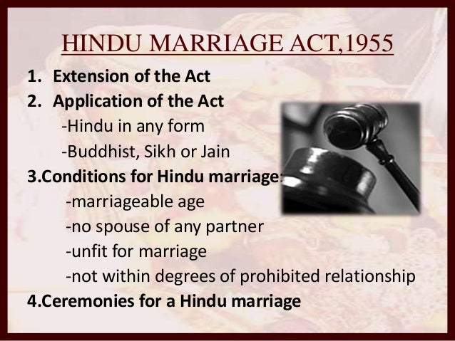hindu marriage act degrees of prohibited relationship