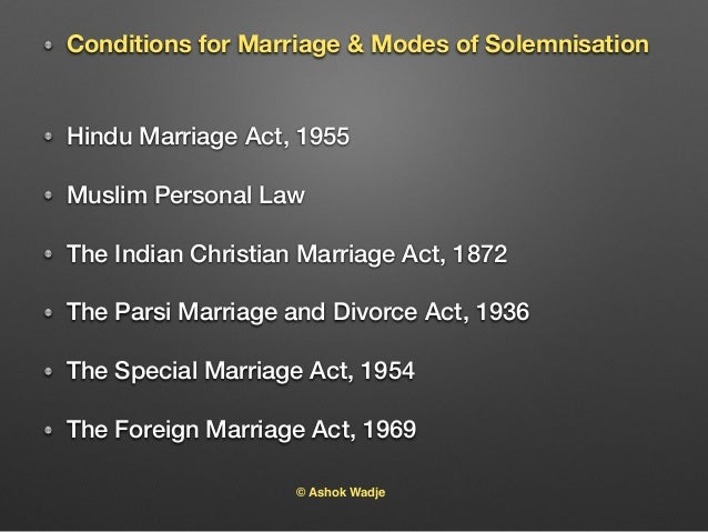 indian marriage act divorce