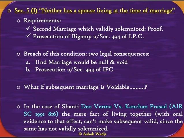 bigamy law in india