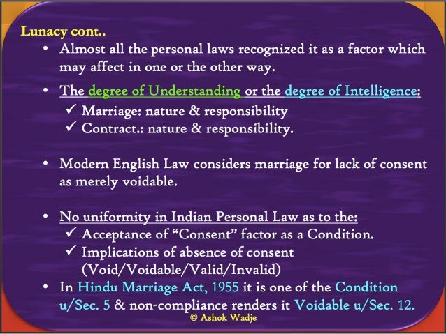 Personal Law on Marriage in India: Conditions, Solemnisation & new tr…